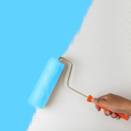 Painting a wall photo