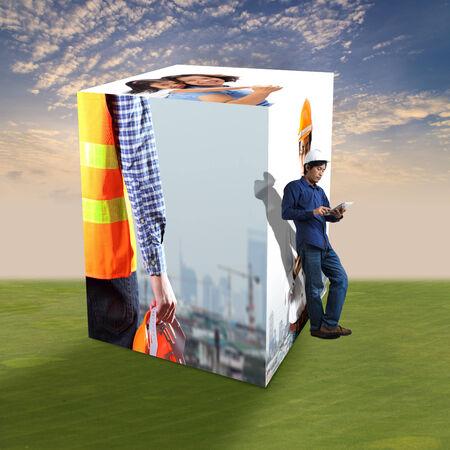 construction concept: Construction concept