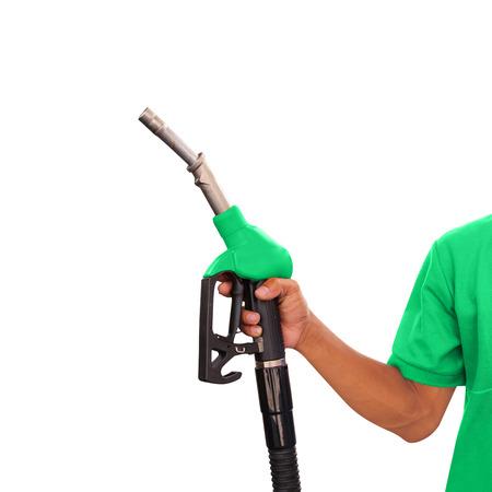 Ouvrier et Service à la station de gaz