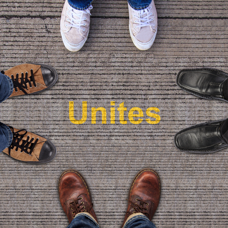 unites: four pairs of shoes with Unites