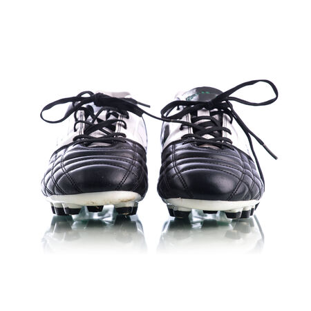 soccer shoes: Soccer shoes on white background