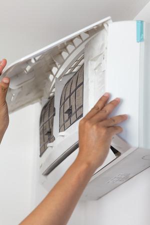 repair air conditioner  photo