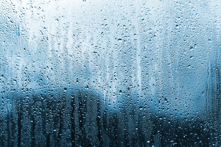 rain on glass  photo