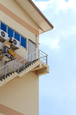 escape: Fire escape