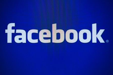 BANGKOK, THAILAND - DECEMBER 25, 2014: the logo of the brand Facebook on December 25, 2014 in Bangkok, Thailand. Internet statistics website Socialbakers ranks Bangkok with the highest number of Facebook users worldwide
