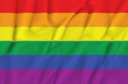 gay pride flag: Gay pride flag