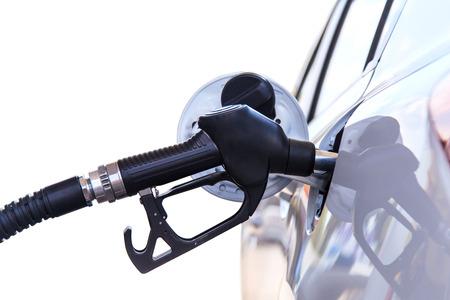 refuel: Car refuel Stock Photo