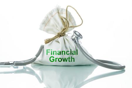 The concept of financial diagnosis photo