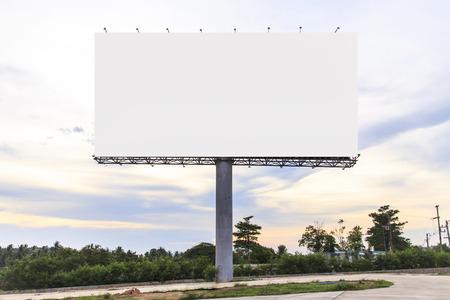 billboard blank: Blank Outdoor Billboard