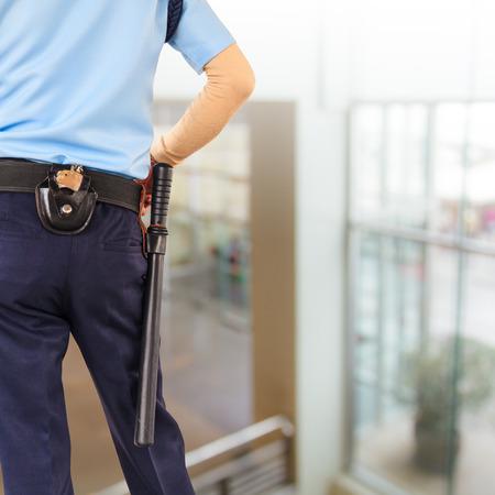 vigilante: Security guard Stock Photo