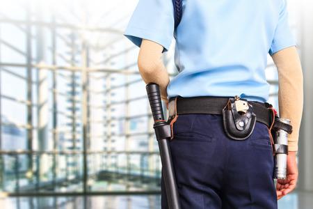 guardia de seguridad: Guardia de seguridad  Foto de archivo