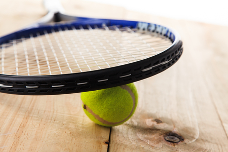 raquet: Tennis Ball and Racket