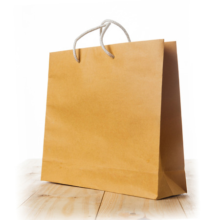 brown paper bags: Shopping bag