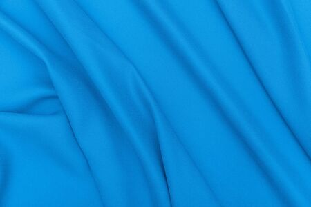 stof textuur: Blue fabric texture background