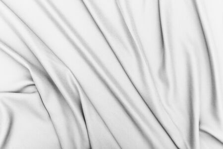 satiny: White fabric texture background