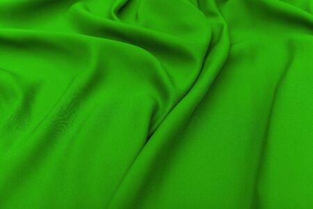 stof textuur: Green fabric texture background