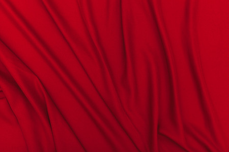 stof textuur: Red fabric texture background