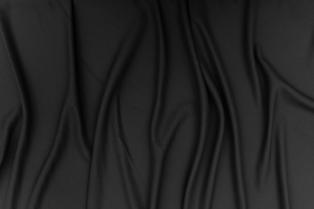 satin background: Black fabric texture background