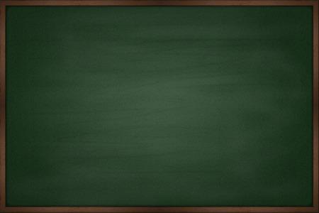 Blank chalkboard blackboard