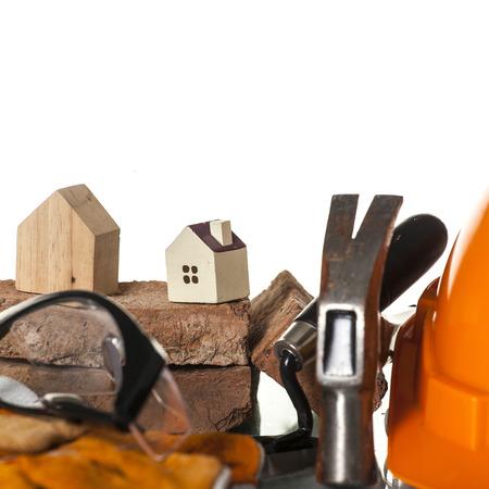 outils construction: Outils de construction avec Maison Ic�ne