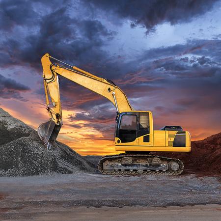 Excavator Фото со стока