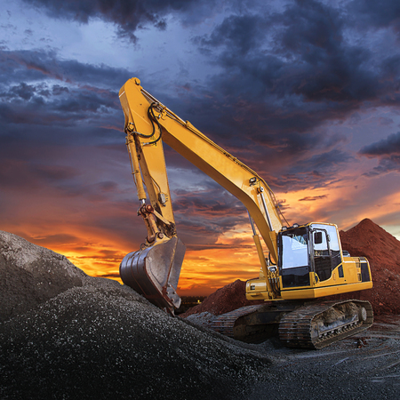 Excavator Banque d'images