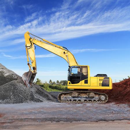 Excavator Reklamní fotografie