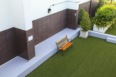 balcony design: Roof top garden