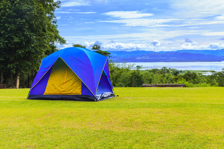 Camping 写真素材