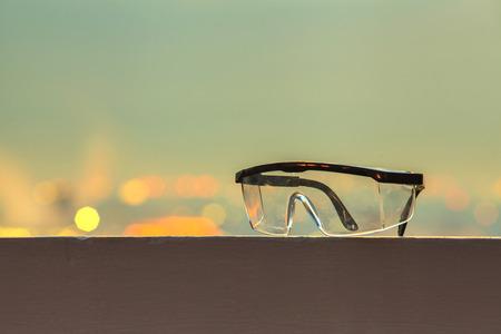 goggles: Construction Goggles Stock Photo