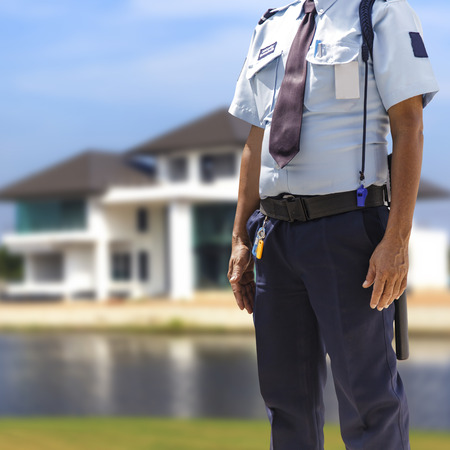armed services: Security guard Stock Photo