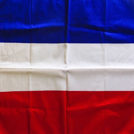 french flag: Flag of French background