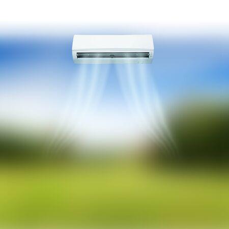 air: Air conditioner