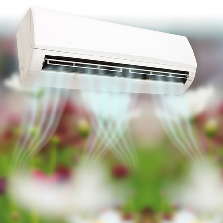 cold air: Air conditioner