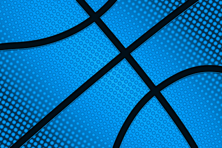 Basketball ball background, basketball ball pattern, illustration
