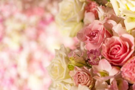 Mixed flower arrangement, Colorful mixed bouquet flowers