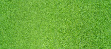 Top view photo, Artificial green grass texture background