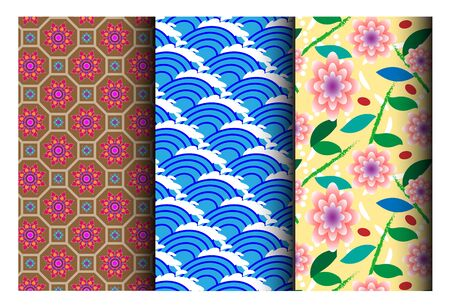 east asia: east asia pattern style