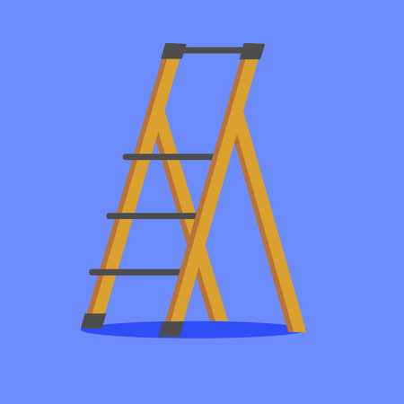 Illustration der Plattformleiter. Vektorobjekt im flachen Stil Vektorgrafik