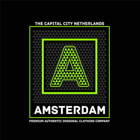 amsterdam the capital city netherlands premium authentic vintage