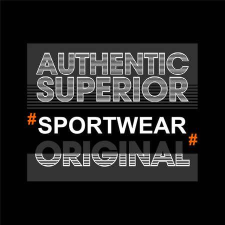 authentic superior original sportwear vintage