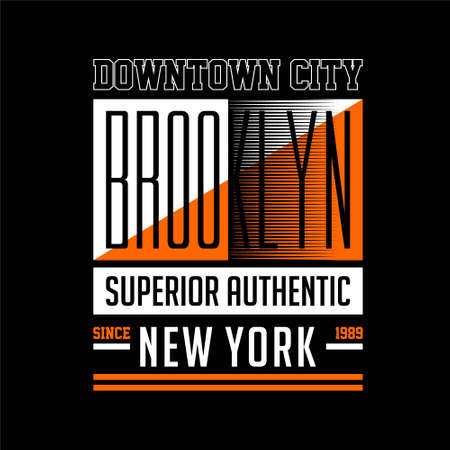 downtown city brooklyn superior auhentic new york