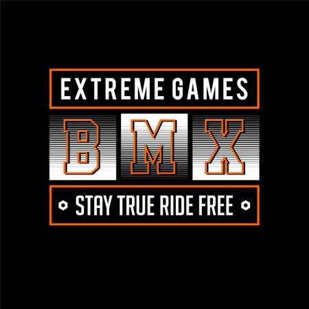 extreme games bmx stay true ride free