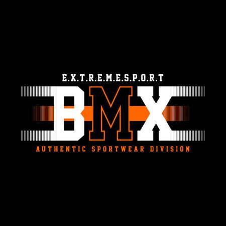 extreme sport bmx authentic sportwear division vintage