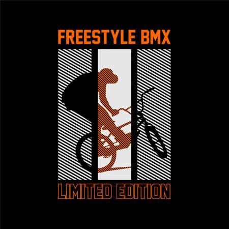 free style bmx limited edition vintage tshirt