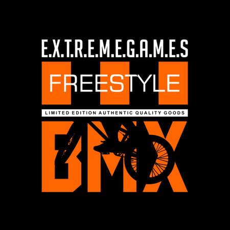 freestyle extreme games bmx vintage tshirt