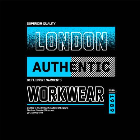 london authentic workwear vntage fashion