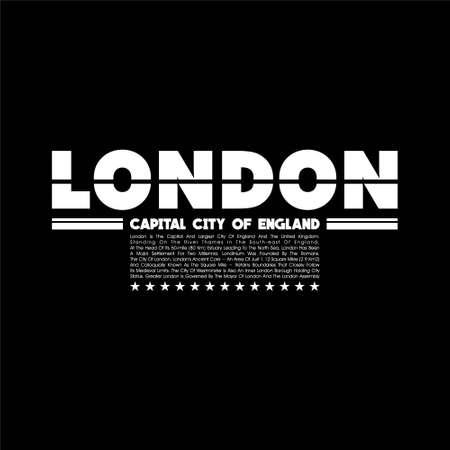 london capital city vintage fashion tees design