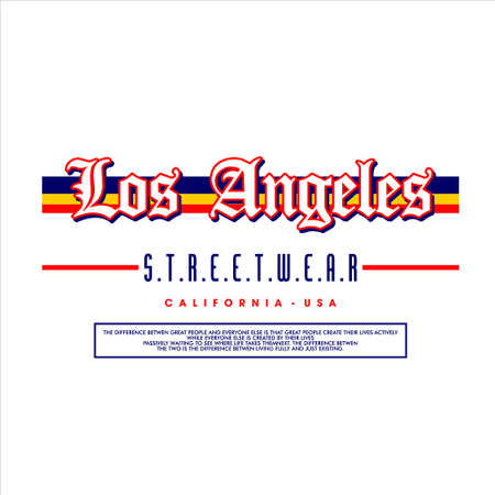los angeles streetwear california usa vintage