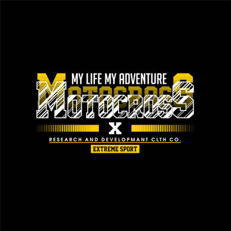 motocross my life my adventure extreme sport